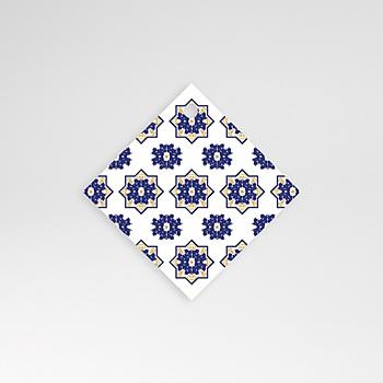 Etiquette mariage - Bleu Ottoman - 0