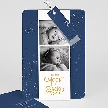 Faire-part naissance fille Luna