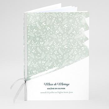 Livrets de Messe Mariage - Moisson de printemps - 0