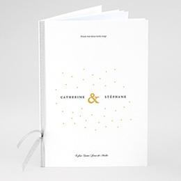 Livret messe mariage Touches d'or