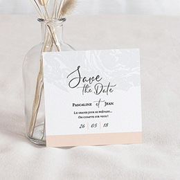 Save-The-Date Marbre Forever