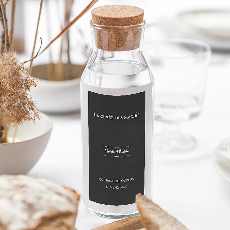 Étiquette bouteille mariage - Moisson d'Automne 62500 thumb