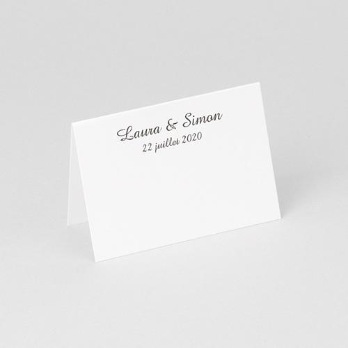 Marque Place Mariage Personnalisés Alliance de deux Coeurs gratuit