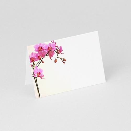 Marque Place Mariage Personnalisés L'orchidée Rose gratuit