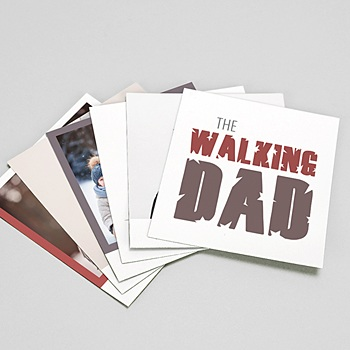 Achat magnet photo rétro walking dad addict