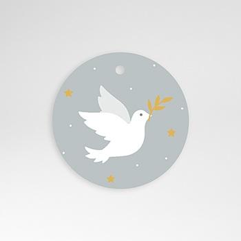 étiquette communion holy spirit gris
