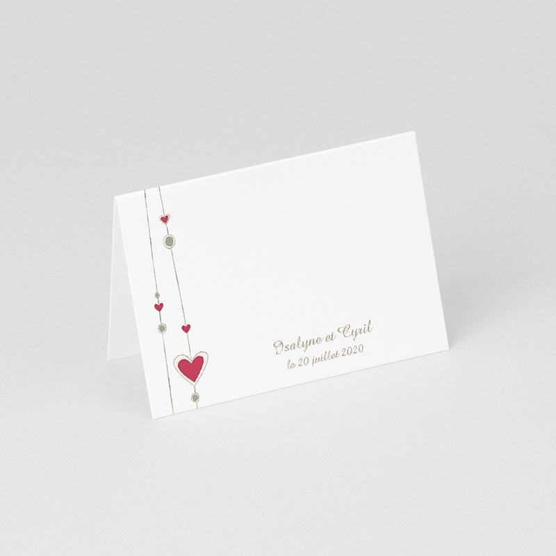Marque Place Mariage Personnalisés Thème Perles gratuit