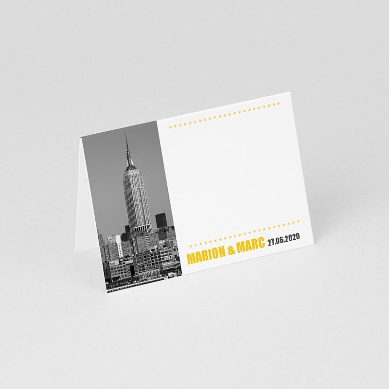 Marque Place Mariage Personnalisés New York City gratuit