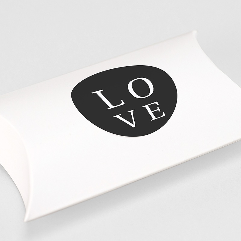 Etiquette Autocollante Mariage Carré Typographique gratuit