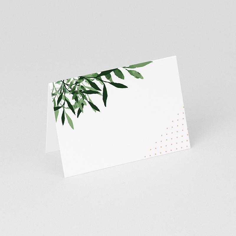 Marque place mariage Végétal gratuit