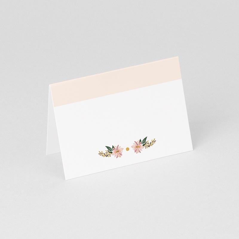 Marque Place Mariage Douceur des fleurs gratuit
