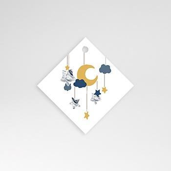 Étiquette Naissance - Nouvelle Lune - 0