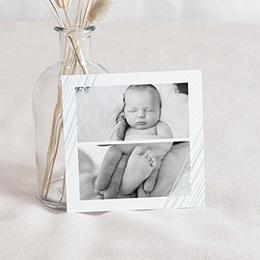 Carte remerciement naissance fille Traits Sucrés