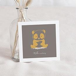 Remerciements Naissance Le Panda Zen