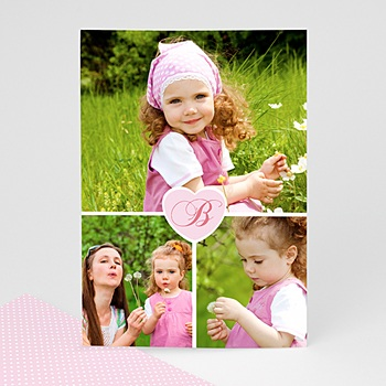 Acheter cartes multi-photos 3 et + 3 photos + 1 coeur