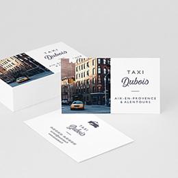 Carte de Visite Professionnel Taxi