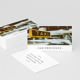 Carte de Visite Professionnel Taxi Driver