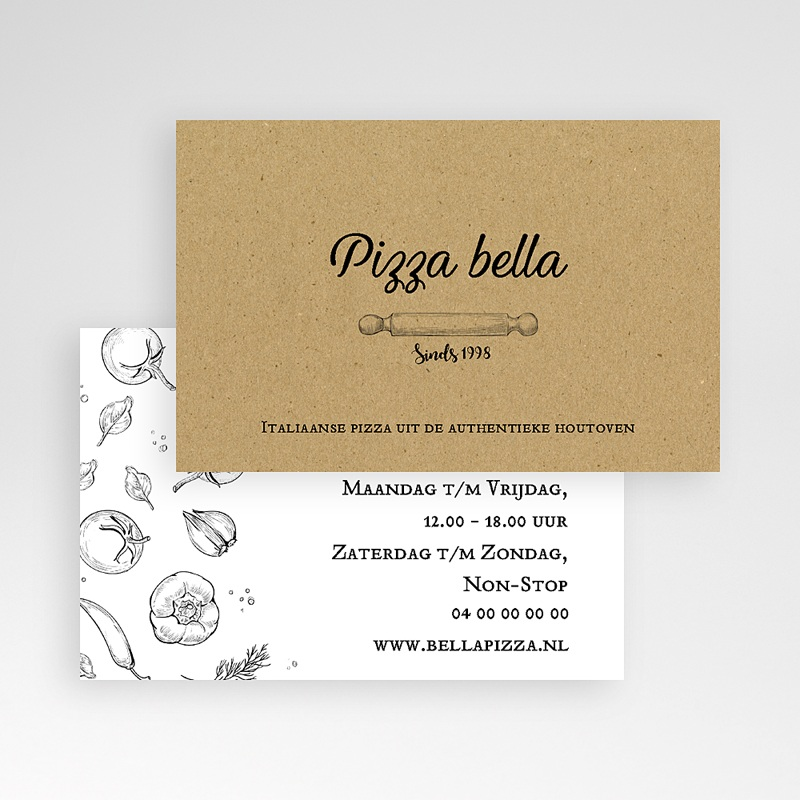 Carte de Visite - Pizza Pizz 63926 thumb