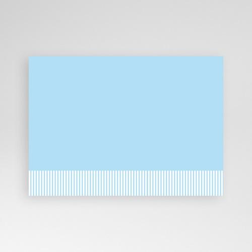Cartes Multi-Photos 2 photos - Deux Photos - Rayures Bleues 6408 preview