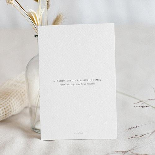 Faire Part Mariage chic - Botanique Minimaliste 64164 thumb