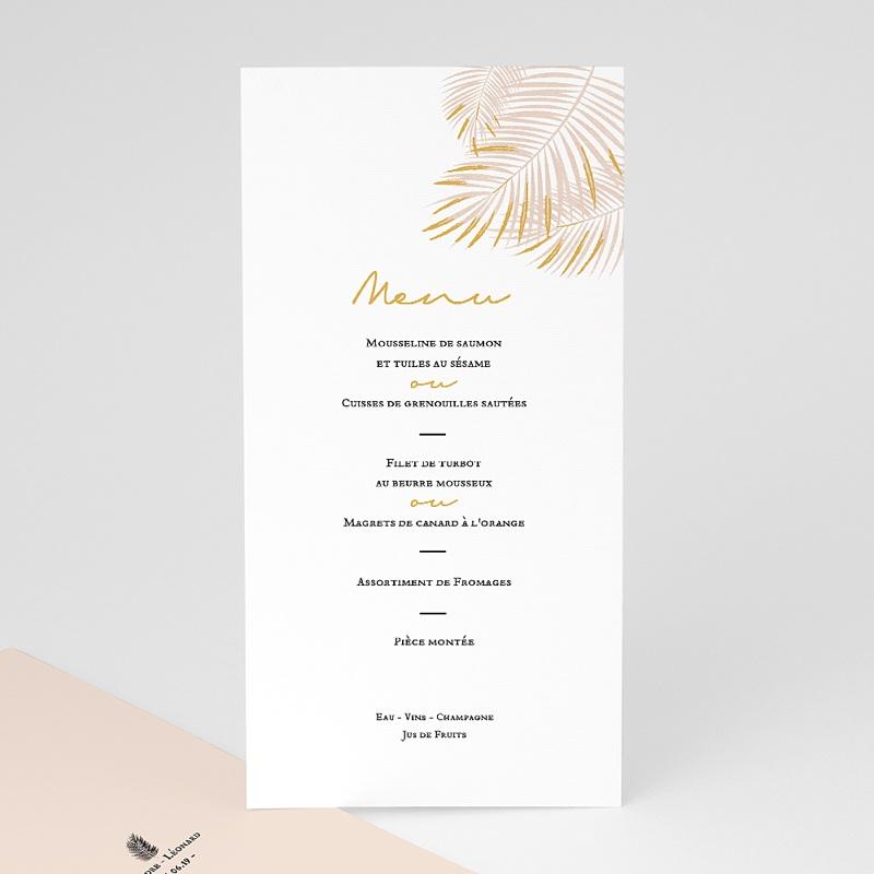 Menu Mariage L'oasis au palmier