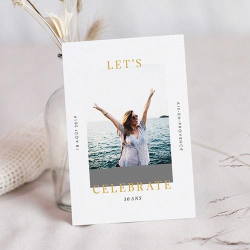 Invitation Anniversaire 30 ans - Fêtons 30 ans 64240 thumb