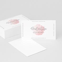 Carte de Visite Douce Rosée