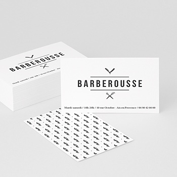 Carte de Visite - Barber Shop & Co - 0