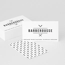 Carte de Visite Professionnel Barber Shop & Co