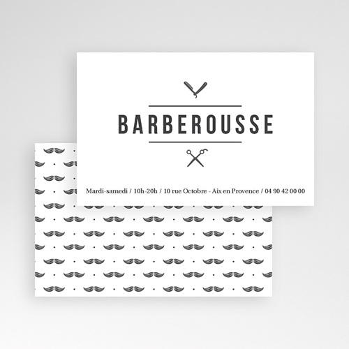 Carte de Visite Barber Shop & Co pas cher