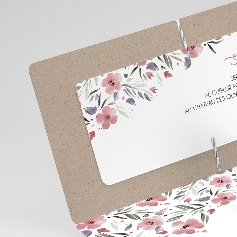 Faire-Part Mariage Liberty Floral chic gratuit