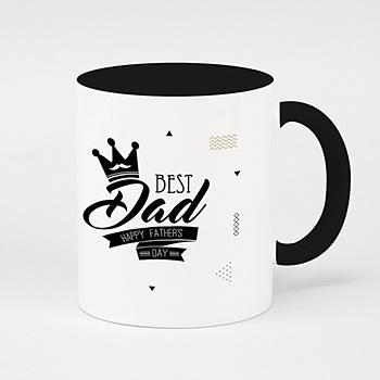 Mug fête des pères - Best Daddy - 0