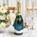 Etiquette Bouteille Mariage L'or bleu gratuit