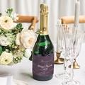 Etiquette Bouteille Mariage Boho Lie de Vin gratuit