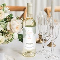 Etiquette Bouteille Mariage Boho Olive