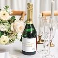 Etiquette Bouteille Mariage Or & Bordeaux gratuit