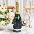 Etiquette Bouteille Mariage Esquisse Florale gratuit