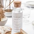 Etiquette Bouteille Mariage Vin Minimaliste Gris & Blanc gratuit