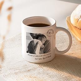 Mug Personnalisé Fête des Pères - Papa N°1 - 0