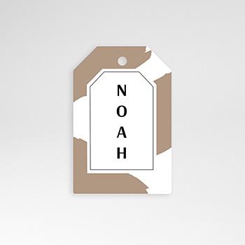 Étiquette Naissance - Wild Touch - 0