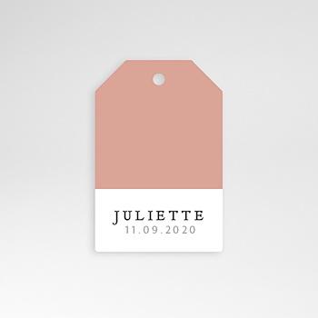 Étiquette Naissance - Pretty Pink - 0