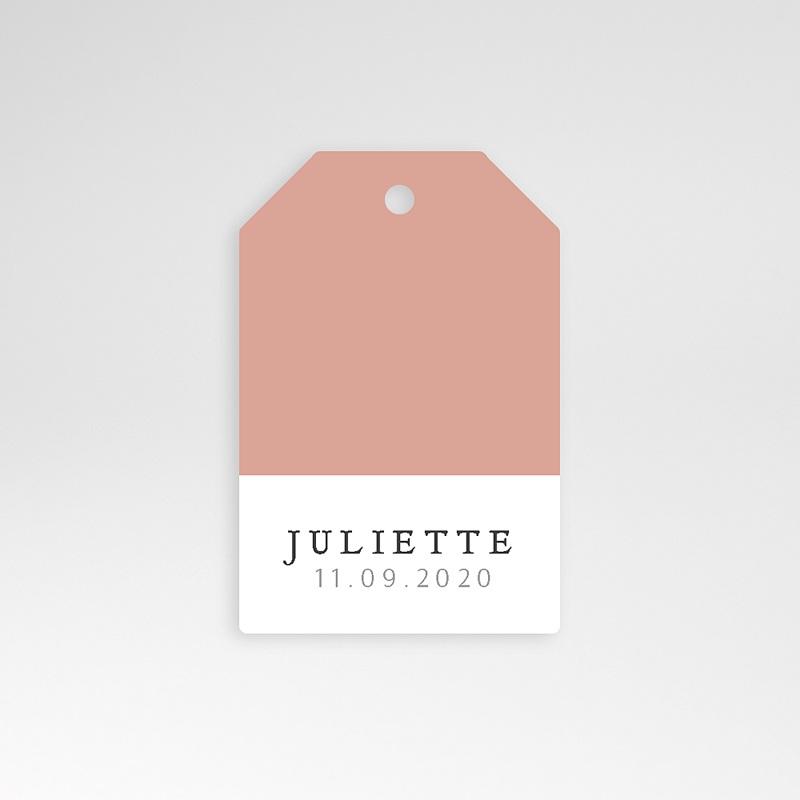 Etiquette Cadeau Naissance Pretty Pink