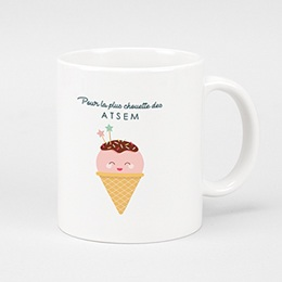 Mug Merci Maitresse Happy Ice Cream