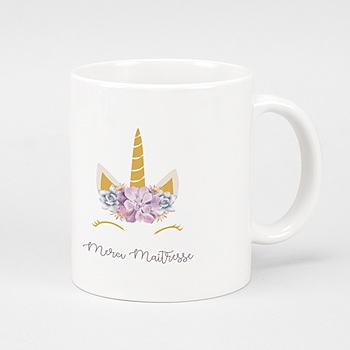 Mug Super Licorne personnalisable