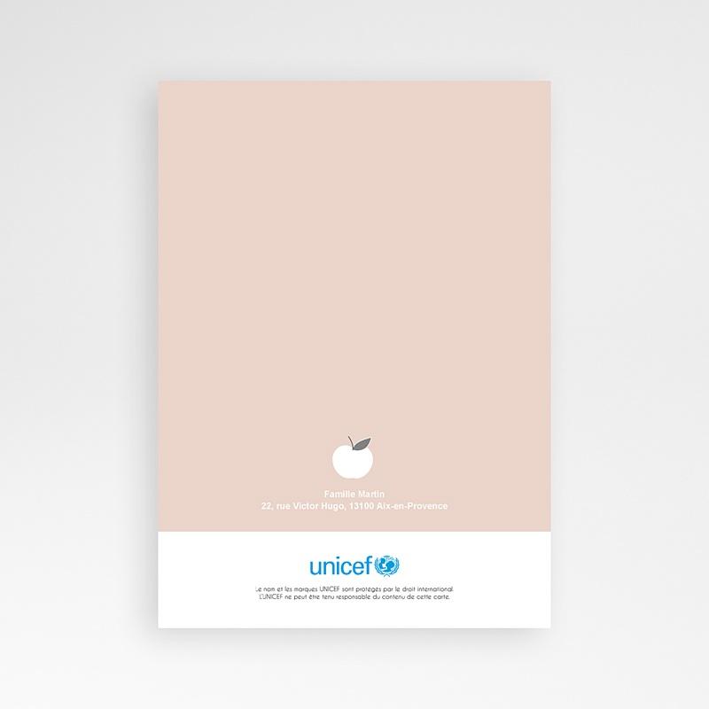 Faire-Part Naissance Fille UNICEF Gala pas cher