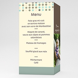 Menu  Pop et pois