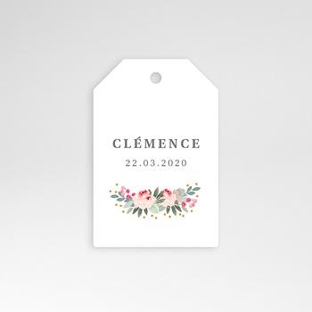 Étiquette Naissance - Lili-Rose - 0