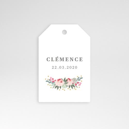 Etiquette Cadeau Naissance Lili-Rose