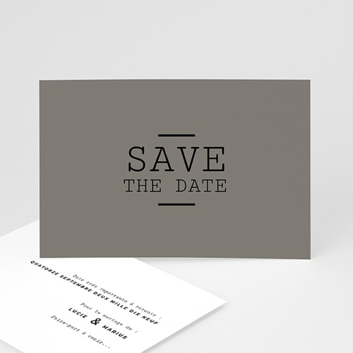 Save-The-Date - Cappuccino 65657 thumb