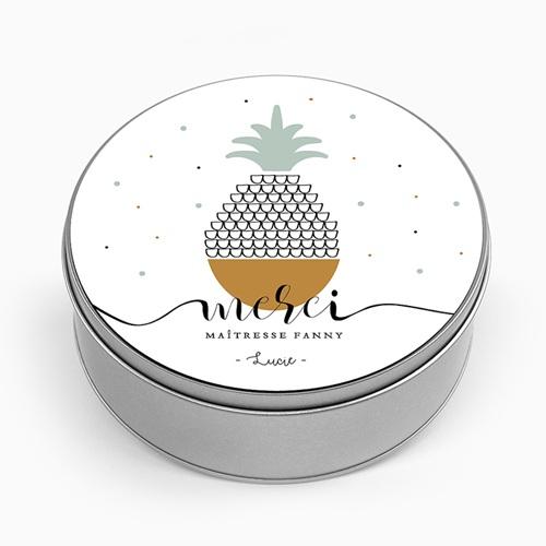 Boîte Personnalisée Photo Fruit Tropical